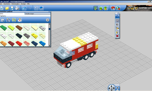 Lego Designer Screenshot